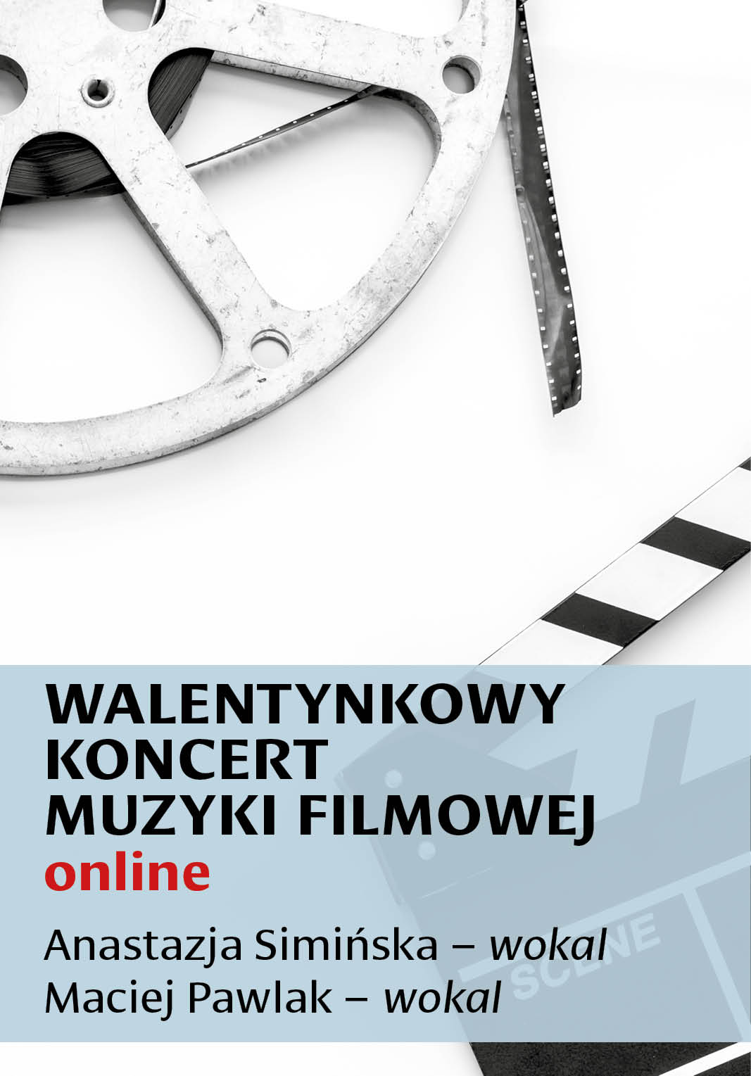 Obraz z informacją o koncercie.